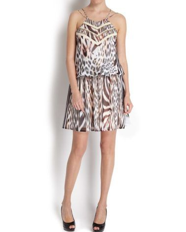 ANIMAL PRINT DRESS MORGAN DE TOI