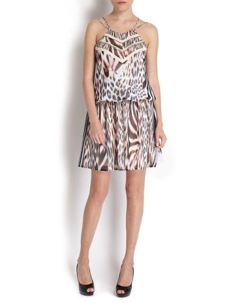 ANIMAL PRINT DRESS MORGAN DE TOI 1